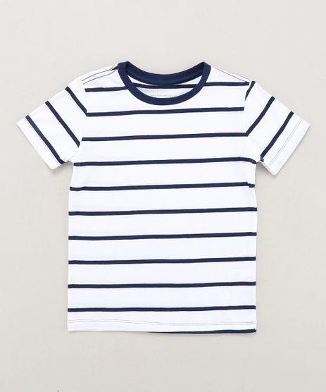 Camiseta-Infantil-Basica-Listrada-Manga-Curta-Gola-Careca-Branca-9442797-Branco_1