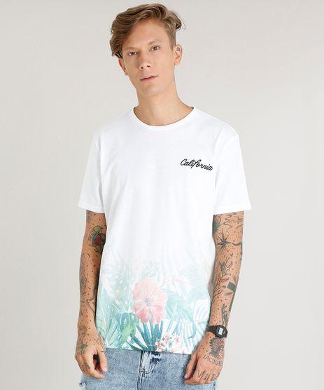 Camiseta-Masculina--California--Manga-Curta-Gola-Careca-Branca-9440759-Branco_1