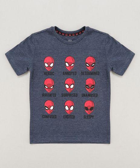 Camiseta-Infantil-Homem-Aranha-Manga-Curta-Gola-Careca-Azul-9427998-Azul_1