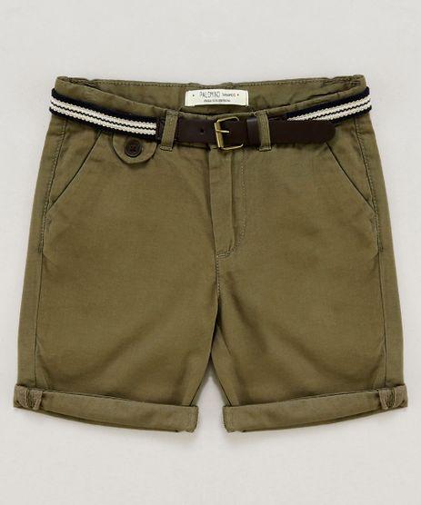 Bermuda-Color-Infantil-com-Cinto-Cadarco-Listrado-Verde-9193832-Verde_1