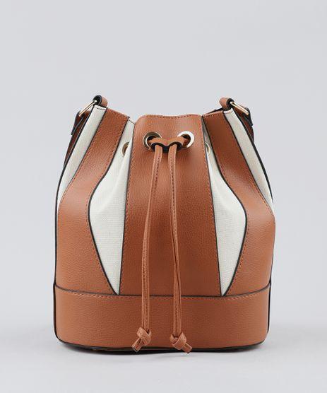 Bolsa-Saco-Feminina-Transversal-com-Recortes-Caramelo-9361052-Caramelo_1