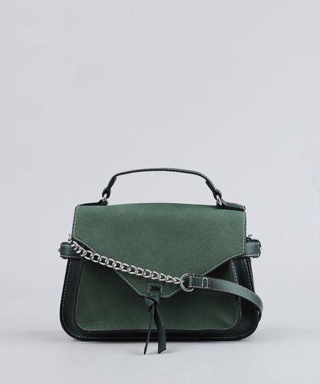 Bolsa-Feminina-Transversal-Alca-com-Corrente-Verde-9361051-Verde_1