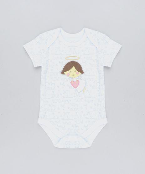 Body-Infantil-Anjinha-Estampado-Manga-Curta-Decote-Redondo-Branco-9110014-Branco_1