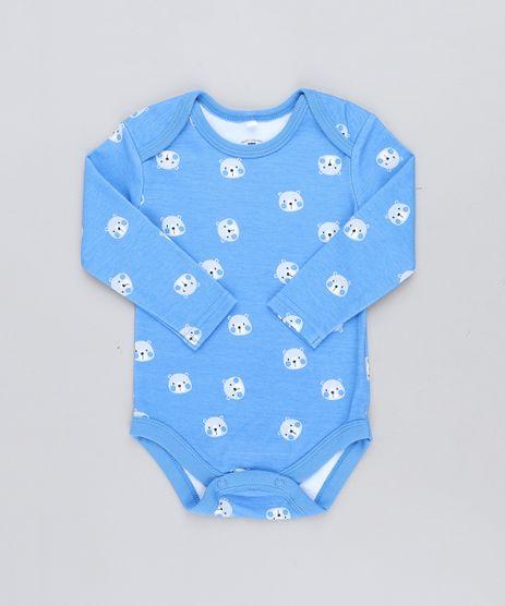 Body-Infantil-Estampado-de-Ursos-Manga-Longa-Gola-Careca-Azul-9198422-Azul_1