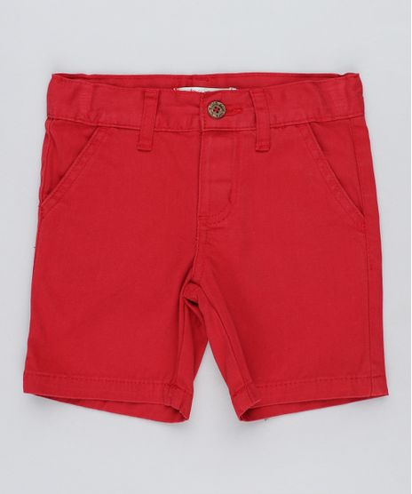 Bermuda-Color-Infantil-Reta-Vermelha-8277086-Vermelho_1