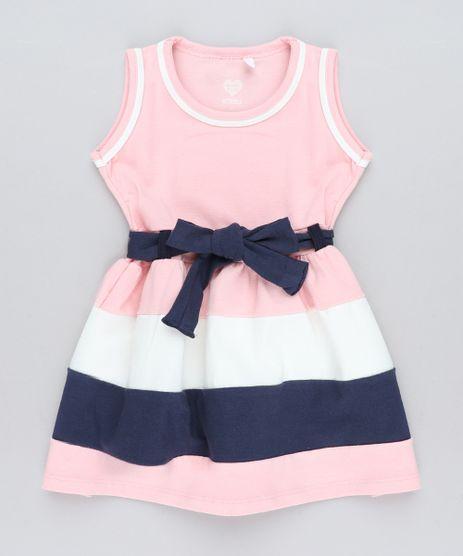 Vestido-Infantil-com-Recortes-e-Laco-Rosa-9415472-Rosa_1