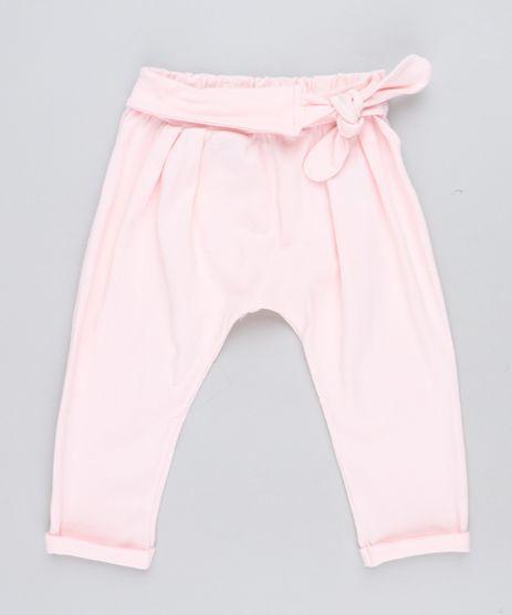 Calca-Infantil-com-No-Rosa-Claro-9473190-Rosa_Claro_1