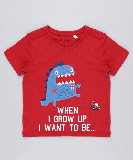 Camiseta-Infantil-Monstrinho-Manga-Curta-Gola-Careca-Vermelha-9449985-Vermelho_1