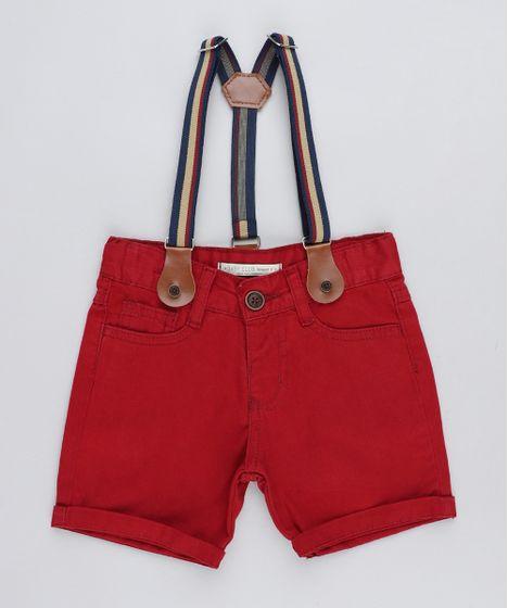 Bermuda-Color-Infantil-com-Suspensorio-Vermelha-9424066-Vermelho 1 ... 6725dc46723