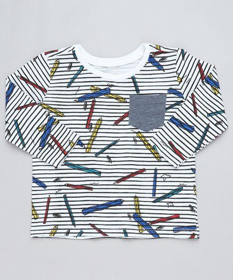 Camiseta-Infantil-Listrada-com-Bolso-Manga-Longa-Gola-Careca-Branca-9441601-Branco_1