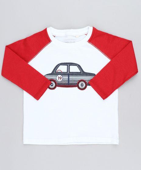 Camiseta-Infantil-Raglan-com-Carro-Bordado-Manga-Longa-Gola-Careca-Branca-9449986-Branco_1
