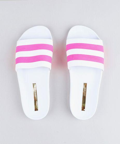Chinelo-Slide-Feminino-Moleca-com-Faixas-Neon-Branco-9464012-Branco_1
