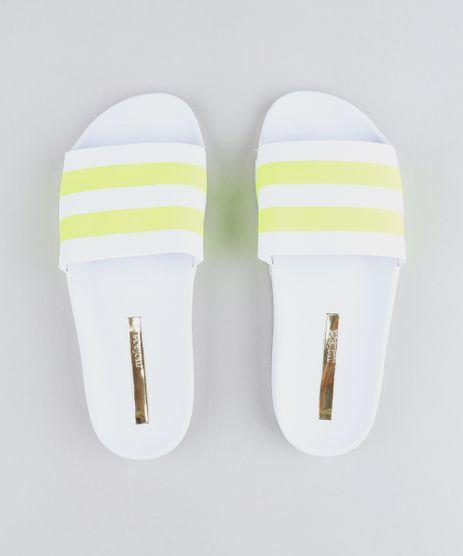 Chinelo-Slide-Feminino-Moleca-com-Faixas-Neon-Branco-9464013-Branco_1