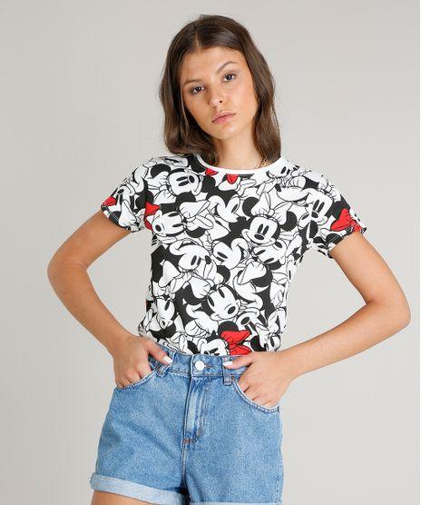 Blusa-Feminina-Estampada-Minnie-Mouse-Manga-Curta-Decote-Redondo-Off-White-9242676-Off_White_1