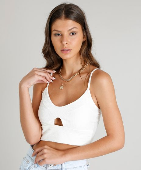 Regata-Feminina-Cropped-Texturizada-com-Vazado-Off-White-9163270-Off_White_1