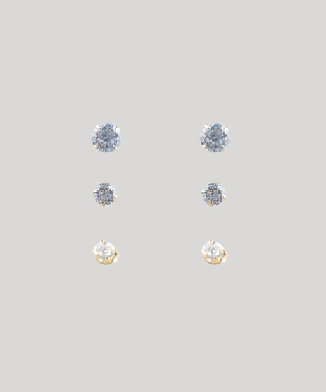 Kit-de-3-Brincos-Femininos-com-Pedra-Dourado-8790179-Dourado_1