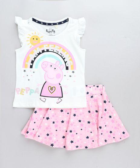 Conjunto-Infantil-Peppa-Pig-de-Regata-Off-White---Short-Saia-Estampado-de-Estrelas-Rosa-9079362-Rosa_1