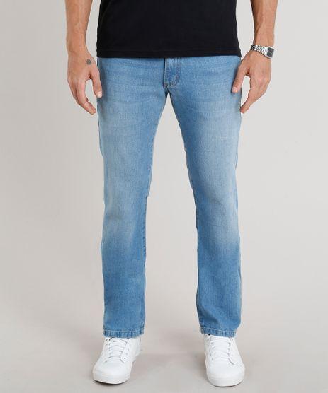 Calca-Jeans-Masculina-Reta-Azul-Claro-8469565-Azul_Claro_1