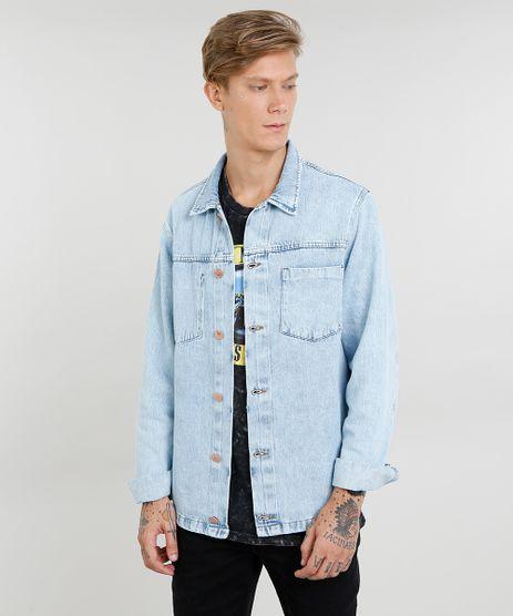 Jaqueta-Jeans-Masculina-com-Bolso-Azul-Claro-9470130-Azul_Claro_1
