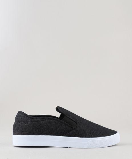 Tenis-Masculino-Slip-On-Ollie-em-Jeans-Preto-8970222-Preto_1