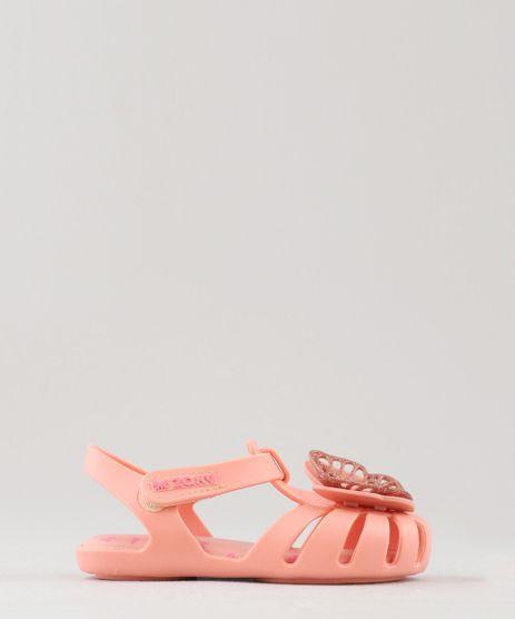 Sandalia-Infantil-Zaxy-Nina-com-Borboleta-Coral-9470431-Coral_1