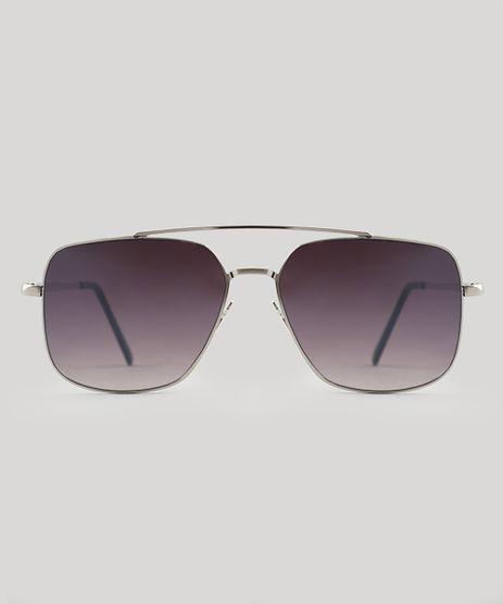 Oculos-de-Sol-Quadrado-Masculino-Oneself-Prateado-9524194-Prateado_1