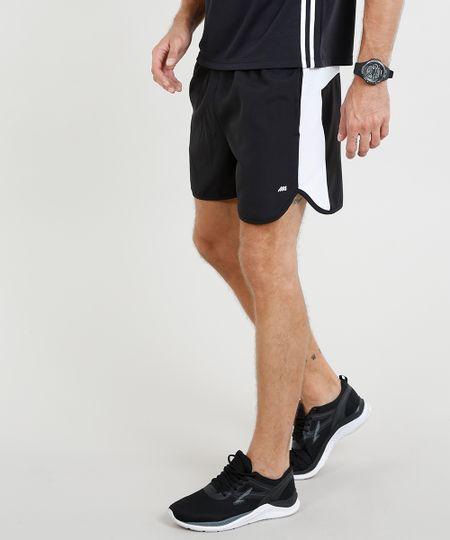 481d08d5c Menor preço em Short Masculino Esportivo Ace com Recorte Preto