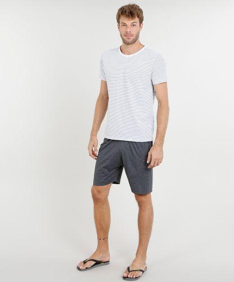Pijama-Masculino-Listrado-Manga-Curta-Branco-9442570-Branco_1