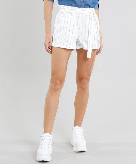 Short-de-Sarja-Feminino-Clochard-Listrado-com-Faixa-para-Amarrar-Off-White-9287370-Off_White_1