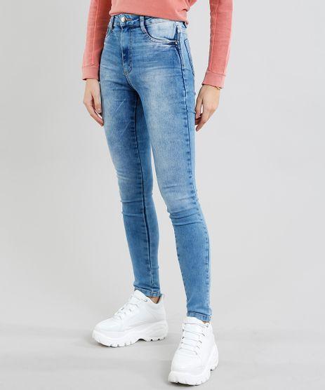 Calca-Jeans-Feminina-Sawary-Super-Lipo-Super-Skinny-Azul-Medio-9446787-Azul_Medio_1