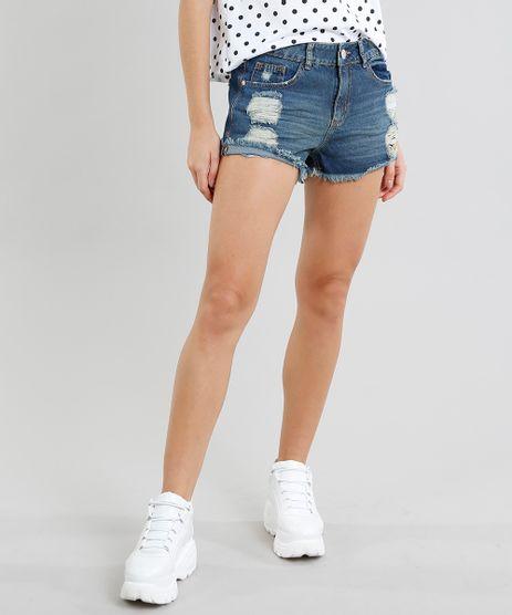 Short-Jeans-Feminino-Boy-Destroyed-Azul-Escuro-9509620-Azul_Escuro_1
