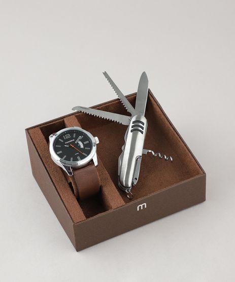 Kit-de-Relogio-Analogico-Mondaine-Masculino---Canivete---99274G0MVNH1K-Prateado-9507610-Prateado_1