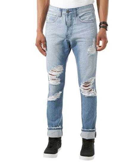 d97b3d228 Calca-Jeans-Slim-Azul-Medio-8426574-Azul_Medio_1. Moda Masculina
