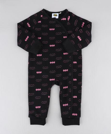 Macacao-Infantil-Batgirl-Estampado-em-Moletom-Manga-Longa-Preto-9205113-Preto_1
