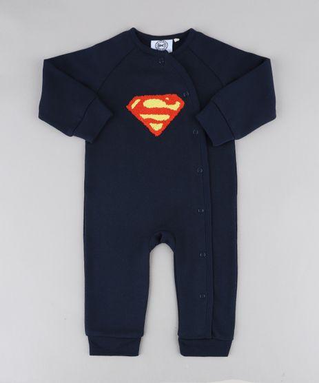 Macacao-Infantil-Super-Homem-em-Moletom-Manga-Longa-Azul-Marinho-9205116-Azul_Marinho_1