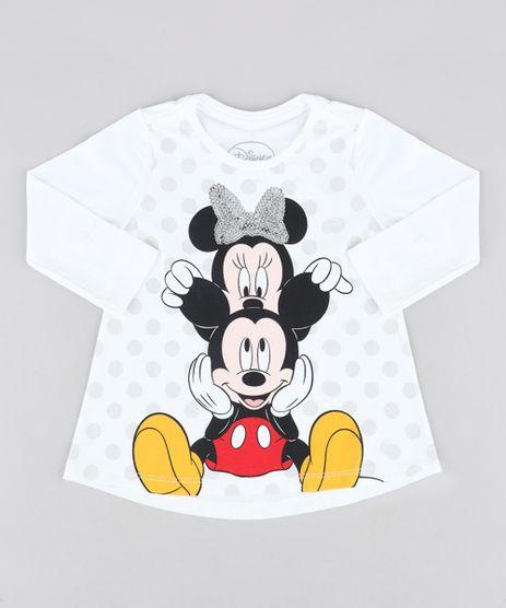 Blusa-Infantil-Minnie-e-Mickey-com-Paete-Manga-Longa-Decote-Redondo-Off-White-9421795-Off_White_1