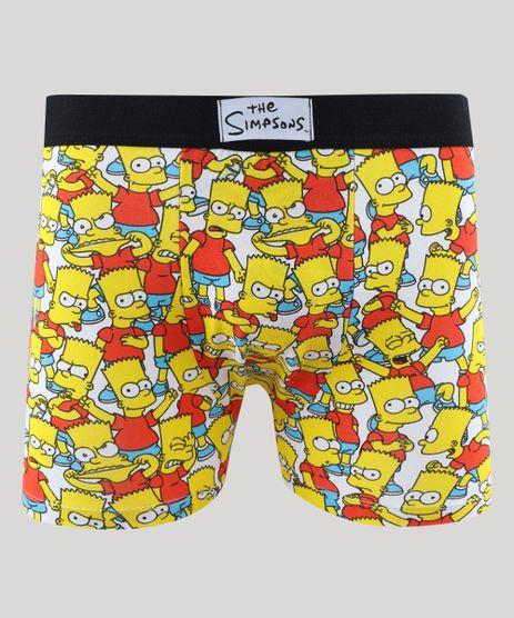 Cueca-Boxer-Masculina-Bart-Simpson-Estampada-Branca-9457667-Branco_1