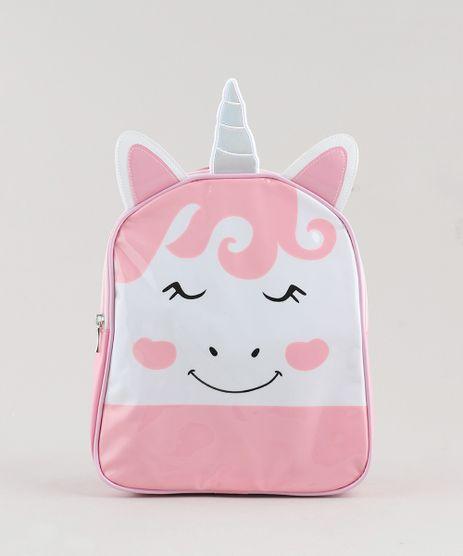 Mochila-Infantil-Unicornio-com-Orelhas-e-Chifre-Rosa-9440445-Rosa_1