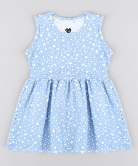 Vestido-Infantil-Estampado-de-Estrelas-Sem-Manga-Azul-Claro-9415475-Azul_Claro_1