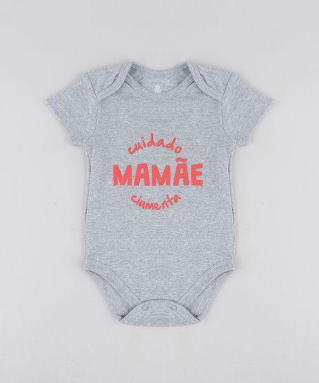 Body-Infantil--Mamae-Ciumenta--Manga-Curta-Decote-Redondo-Cinza-Mescla-9208148-Cinza_Mescla_1