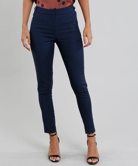 Calca-Feminina-Skinny-com-Fivelas-e-Bolso-com-Ziper-Azul-Marinho-8517499-Azul_Marinho_1