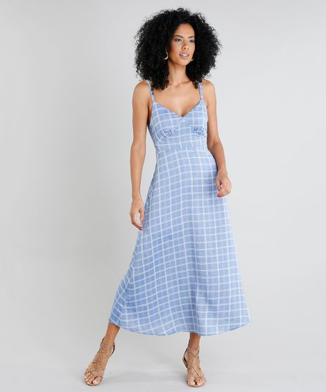 Vestido-Feminino-Midi-Estampado-Xadrez-Alca-Fina-Azul-9369694-Azul_1