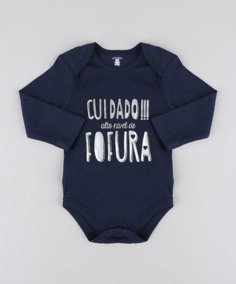 Body-Infantil--Alto-Nivel-de-Fofura--Manga-Longa-Decote-Redondo-Azul-Marinho-9208126-Azul_Marinho_1