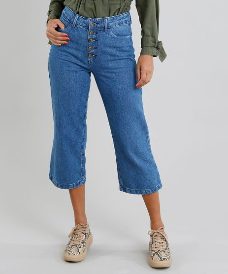Calca-Jeans-Feminina-Pantacourt-Azul-Medio-9463449-Azul_Medio_1