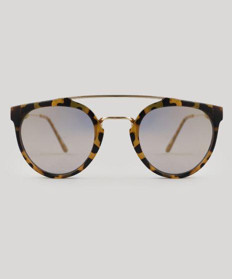 Oculos-de-Sol-Redondo-Feminino-Oneself-Tartaruga-9524181-Tartaruga_1