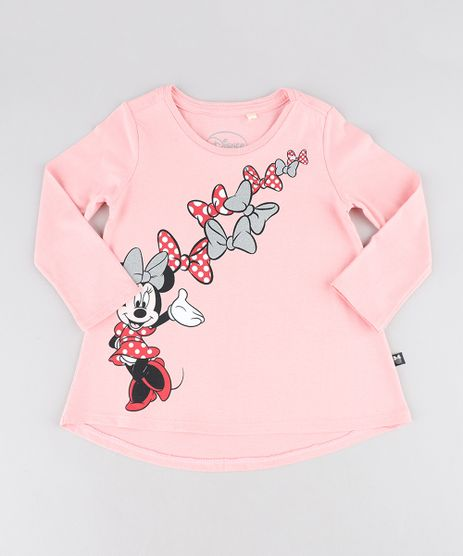Blusa-Infantil-Minnie-com-Glitter-Manga-Longa-Decote-Redondo-Rose-9473124-Rose_1