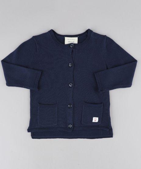 Cardigan-Infantil-com-Bolsos-em-Trico-Azul-Marinho-9345928-Azul_Marinho_1