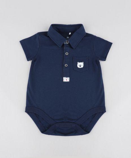 Body-Polo-Infantil-com-Bolso-e-Bordado-Manga-Curta--Azul-Marinho-9201537-Azul_Marinho_1
