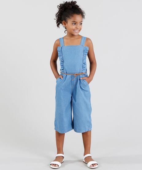Macacao-Pantacourt-Jeans-com-Babado-e-Cinto-Azul-Claro-8801637-Azul_Claro_1
