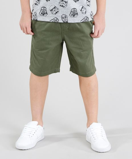 Bermuda-Color-Infantil-Reta-com-Cordao-Verde-Militar-9444328-Verde_Militar_1